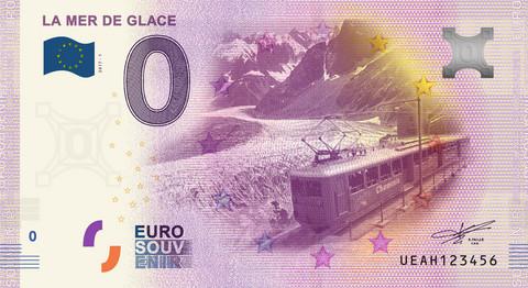 Ranska 0 euro 2019 la Mer de Glace UNC