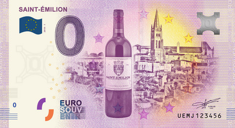 Ranska 0 euro 2019 Saint Émilion UNC