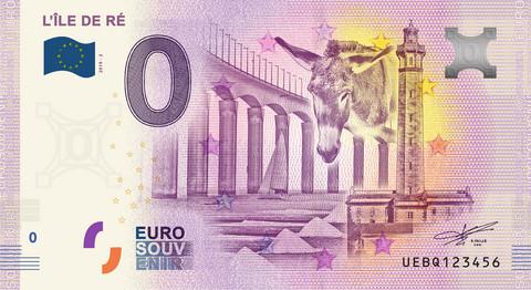 Ranska 0 euro 2019 L'Île de Ré UNC