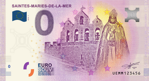 Ranska 0 euro 2019 Saintes Maries de la Mer UNC