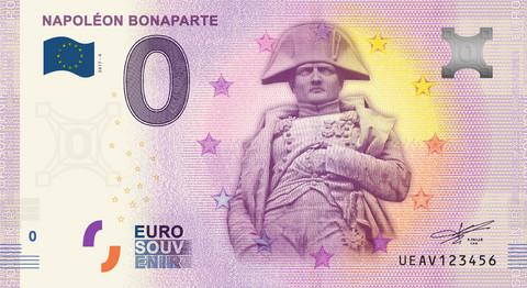 Ranska 0 euro 2019 Napoleon Bonaparte UNC