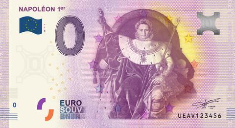 Ranska 0 euro 2019 Napoleon 1er UNC