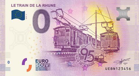 Ranska 0 euro 2019 Train de la Rhune UNC