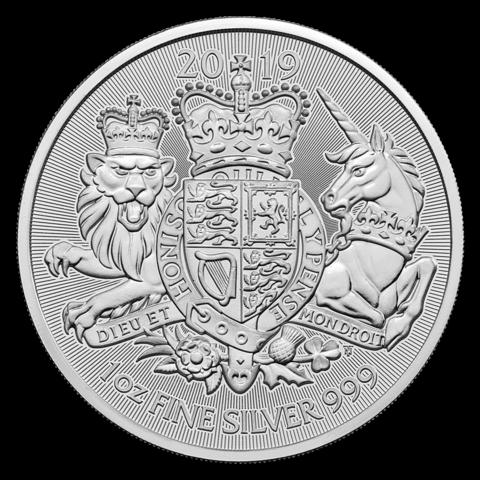 Britannia 2 £ 2019 Royal Arms BU 1oz HOPEA