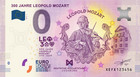 Saksa 0 euro 2019 Leopold Mozart 300 v. UNC