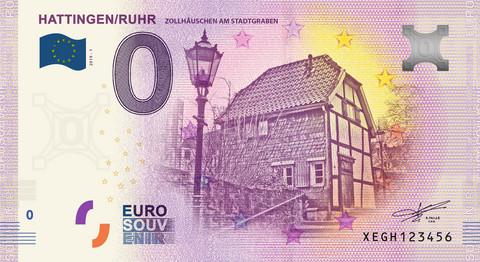 Saksa 0 euro 2019 Hattingen/Ruhr UNC