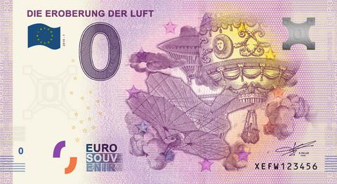 Saksa 0 euro 2019 Die Eroberung der Luft UNC