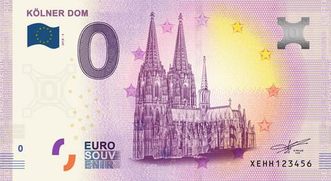 Saksa 0 euro 2019 Kölnin tuomiokirkko UNC