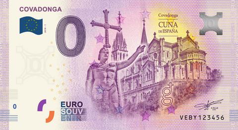 Espanja 0 euro 2019 Covadonga UNC