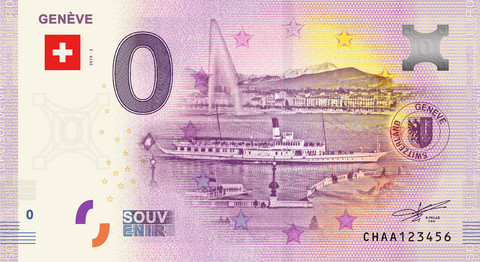 Sveitsi 0 euro 2019 Geneve UNC
