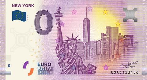 Yhdysvallat 0 euro 2019 New York UNC