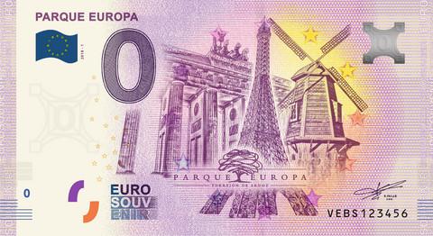 Espanja 0 euro 2019 Parque Europa UNC