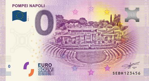 Italia 0 euro 2019 Pompei Napoli UNC