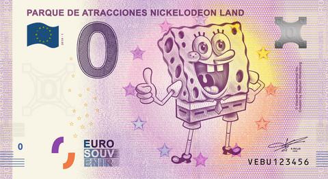 Espanja 0 euro 2019 Parque de Atracciones Nickelodeon UNC