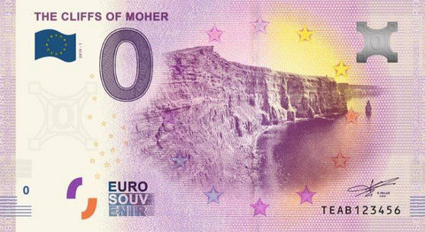 Irlanti 0 euro 2019 Cliffs of Moher UNC