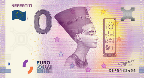 Saksa 0 € 2019 Nefertiti UNC