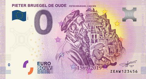 Belgia 0 euro 2019 Pieter Bruegel UNC