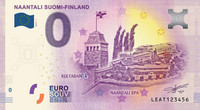 Suomi 0 euro 2019 Naantali-nollaseteli