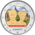 Luxemburg 2 € 2019 Charlotte 100 v., väritetty (#1)