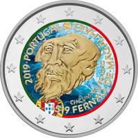 Portugali 2 € 2019 de Magalhães 500 v., väritetty (#2)