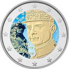 Slovakia 2 € 2019 Milan Rastislav Štefánik, väritetty (#1)