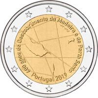 Portugali 2 € 2019 Madeira 600 vuotta
