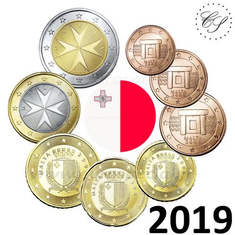 Malta 1s - 2 € 2019 BU