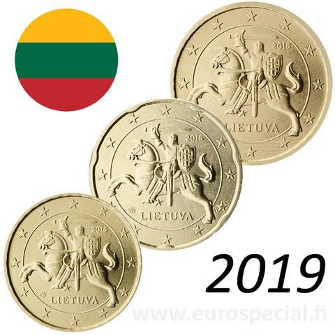 Liettua 10s, 20s & 50s 2019 BU kapseleissa