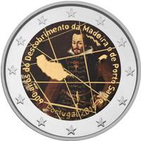 Portugali 2 € 2019 Madeira 600 v., väritetty (#1)