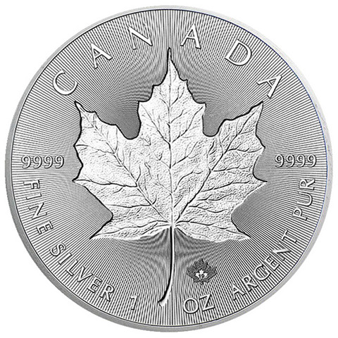 Kanada 5 $ 2019 Maple Leaf Incuse 1oz Ag