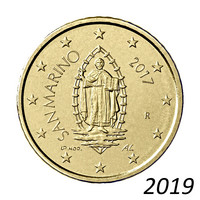 San Marino 50s 2019 The Portrait of San Marino UNC