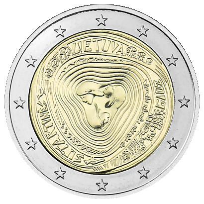 Liettua 2 € 2019 Moniääniset Sutartines-laulut