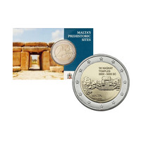 Malta 2 € 2019 Ta' Haġratin temppelit, MdP, coincard