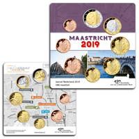 Alankomaat 1s - 2€ 2019 Maastricht UNC rahasarja