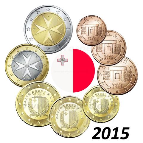 Malta 1s - 2 € 2015 BU