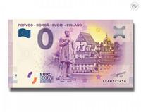 Suomi 0 euro 2019 Porvoo-Borgå nollaseteli