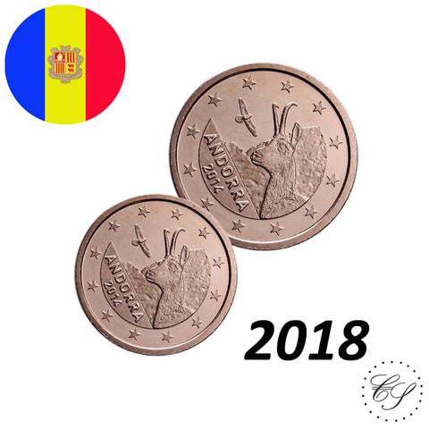 Andorra 1s & 2s 2018 UNC