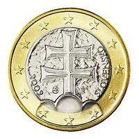 Slovakia 1 € 2018 Vaakuna BU