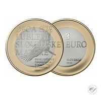 Slovenia 3 € 2019 Prekmurjen palautus 100 v.