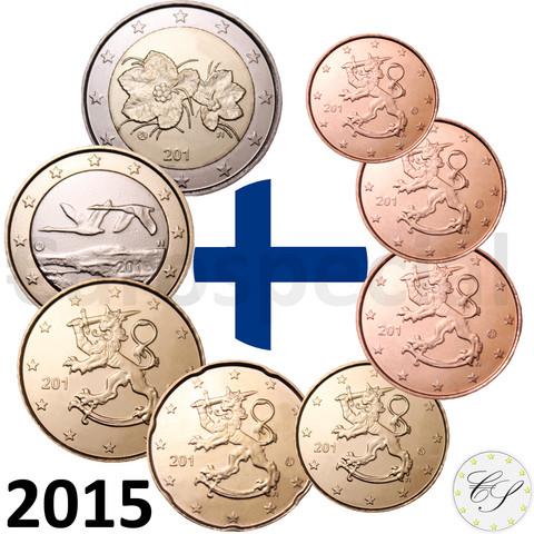 Suomi 1s - 2 € 2015 UNC