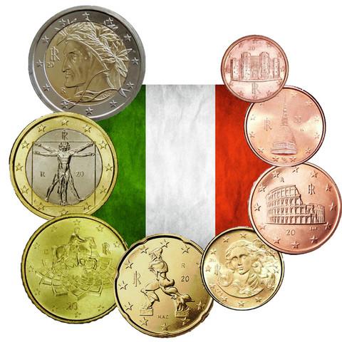 Italia 1s - 2 € 2008 UNC
