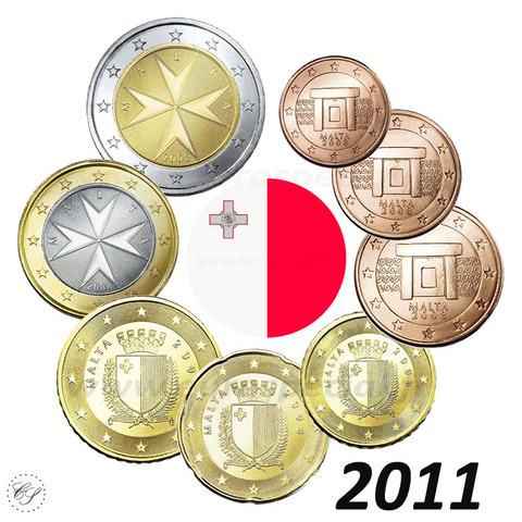 Malta 1s - 2 € 2011 BU