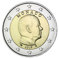 Monaco 2 € 2019 Albert II