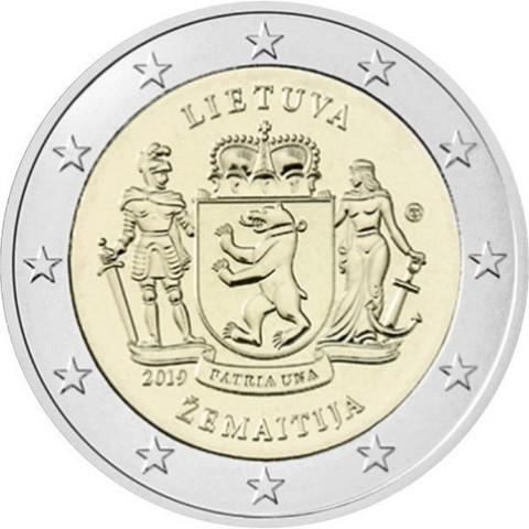 Liettua 2 € 2019 Zemaitija