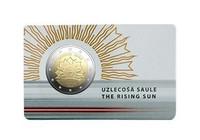 Latvia 2 € 2019 Vaakuna - Nouseva aurinko BU coincard
