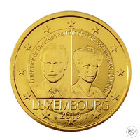 Luxemburg 2 € 2019 Charlotte 100 v. kullattu