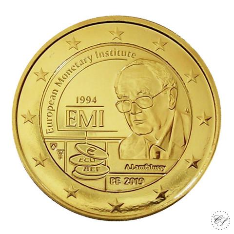 Belgia 2 € 2019 Euroopan rahapoliittinen instituutti KULLATTU