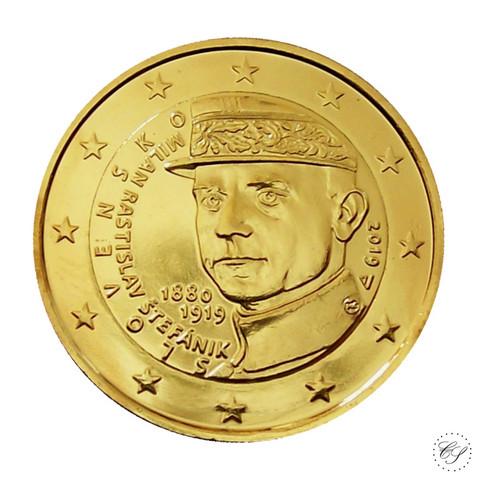 Slovakia 2 € 2019 Milan Rastislav Štefánik KULLATTU