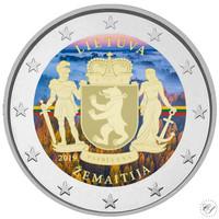 Liettua 2 € 2019 Zemaitija, väritetty (#1)