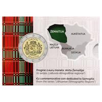 Liettua 2 € 2019 Zemaitija BU coincard